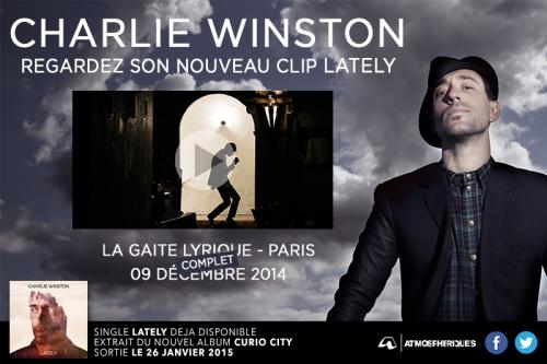 charlie winston, lately, clip, curio, city, buzz, label