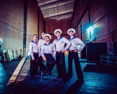 Chœurs et Danses des Marins de l'armée Rouge, tournée, france