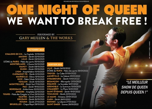 One Night of Queen, tournée, 2021