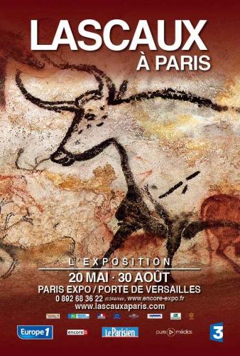 lascaux, expo, paris