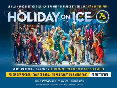 Holiday On Ice - Palais des Sports - Dôme de Paris