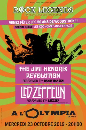 rock legends,l'olympia,paris,concert,tribute bands,jimi hendrix,led zeppelin,les cochons de l'espace,letz zep