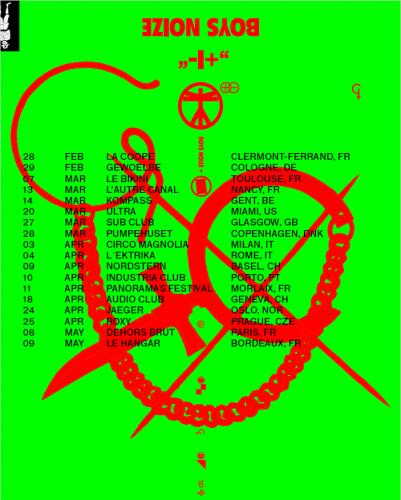 Boys Noize, Tournée, concert