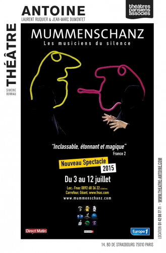 mummenschanz,theatre,scene,paris,theatre antoine,culture,reserver,billets,buzz