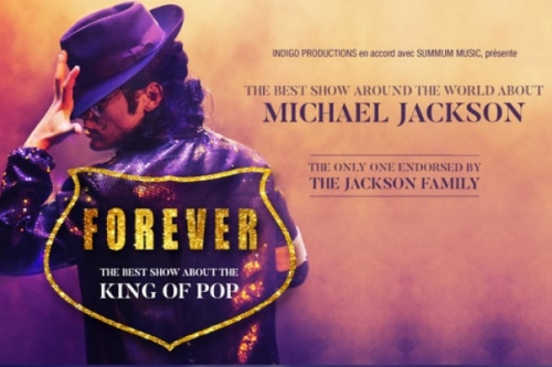 Forever, spectacle, michael jackson, casino de paris